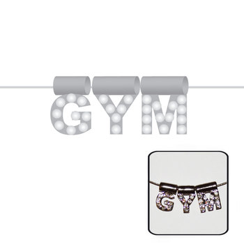 Halsketting Gym Zilver 9053C