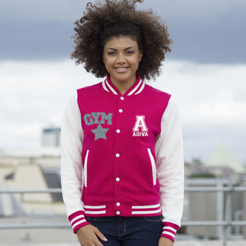 Teddy college jacket Rose
