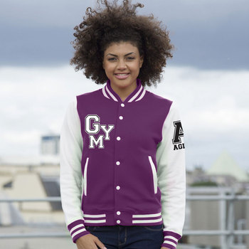 Teddy college jacket