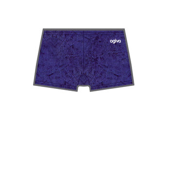 Hot Pant in Velours Navy (454) 3768 454