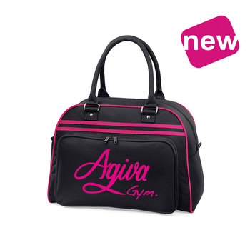 Sports Bag Black-Fuschia 9028NF