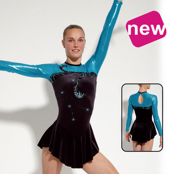 Leotard in Smooth Velours