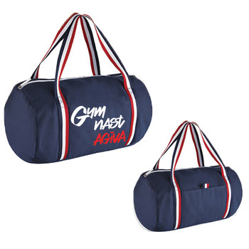 barrel bag  Tricolor Navy 9067M